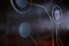 Яркий покрашенный экран smd СИД Стоковая Фотография RF