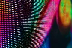 Яркий покрашенный экран smd СИД Стоковое Изображение RF