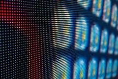 Яркий покрашенный экран smd СИД Стоковые Фотографии RF