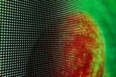 Яркий покрашенный экран smd СИД Стоковая Фотография