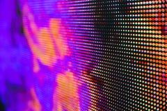 Яркий покрашенный экран smd СИД Стоковое Фото