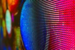 Яркий покрашенный экран smd СИД Стоковое фото RF