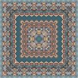 Яркий покрашенный bandana Стоковое Фото