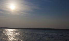 Яркий рассвет Стоковые Фотографии RF