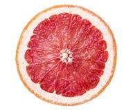 Яркий сочный кусок грейпфрута Стоковая Фотография RF