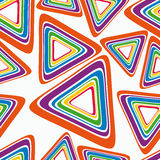 яркий треугольник Стоковое фото RF