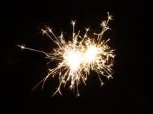 яркий феиэрверк Стоковое Изображение RF