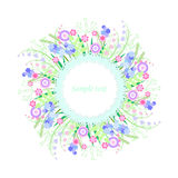 яркий цветок Стоковая Фотография
