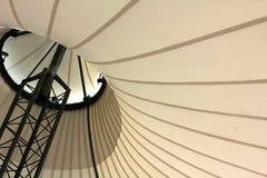 Яркий шатер ткани с поляками металла Стоковое Изображение RF