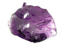 Яркий magenta стеклянный камень Стоковые Изображения RF