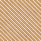 Яркий Rep апельсина и белых малый польки точек и нашивок картины Стоковые Изображения RF