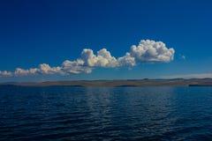 Яркий seascape Стоковые Фото