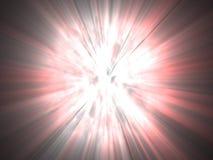 яркого взрыва галактическая красного цвета белизна очень Стоковые Изображения RF