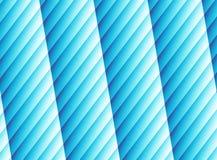 Яркое голубое современное абстрактное искусство фрактали Живая иллюстрация предпосылки с striped столбцами изображение произведен Стоковая Фотография