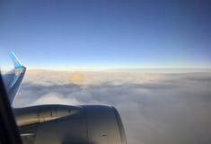 Яркое зарево неба Стоковые Фото