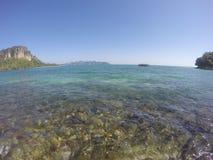 Яркое море Стоковая Фотография
