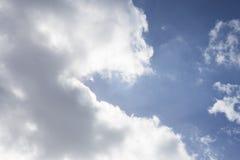 яркое небо стоковое изображение rf