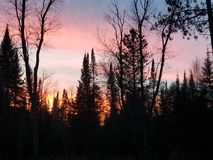 Яркое ночное небо стоковое фото rf