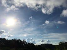 яркое солнце Стоковое Изображение RF
