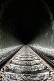Яркость в конце тоннеля Стоковое Фото