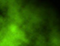 ярко - зеленый дым Стоковая Фотография RF