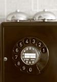 ярко - зеленый фиолет телефона Стоковая Фотография