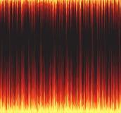 Ярко красная карточка Стоковое Изображение
