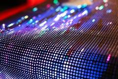 Ярко освещенный покрашенный изогнутый экран smd СИД Стоковое Фото