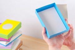 Ярко покрашенные коробки для подарков Стоковые Фото