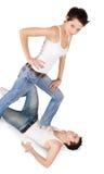 ярк детеныши женщины изображения человека Стоковые Фото