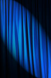 Ярк освещенные занавесы - принципиальная схема театра стоковое изображение