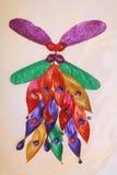 ярк покрашенные семена стоковые изображения