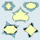 ярлыки собрания Иллюстрация вектора