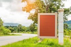 Ярлык Брайна деревянный стоковая фотография