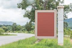 Ярлык Брайна деревянный стоковые фото