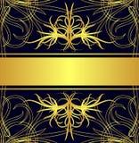 ярлык золота Стоковая Фотография