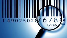 ярлык кода штриховой маркировки Стоковые Фотографии RF