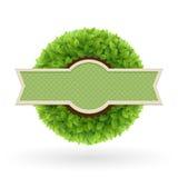 Ярлык натуральных продуктов. Стоковое Изображение RF