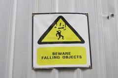 Ярлык предупредительного знака Стоковое Изображение