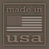 ярлык США Стоковая Фотография RF