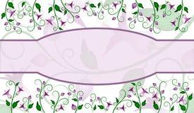 ярлык цветка конструкции Стоковые Фото