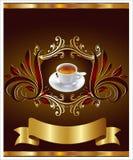 ярлык espresso штанг Стоковые Изображения RF