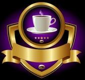 ярлык espresso штанг Стоковое Изображение RF
