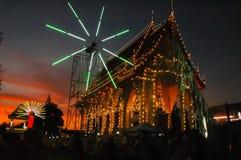 Ярмарка виска ежегодная традиция стоковая фотография rf
