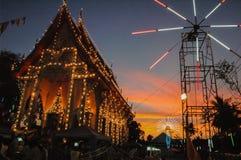 Ярмарка виска ежегодная традиция стоковое изображение rf
