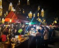 Ярмарка рождества в колумбийском городе Cali Стоковые Изображения RF