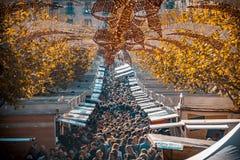 Ярмарка рождества turron в jijona стоковая фотография