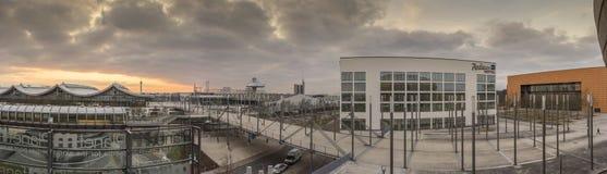 Ярмарочная площадь Ганновера Стоковое Фото