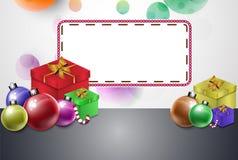 Ярлыки вектора карточки подарка Стоковое фото RF