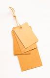 Ярлыки продажи ретро картона стиля винтажные Стоковые Изображения RF